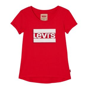 Lev i's Girl's Red Logo T-Shirt