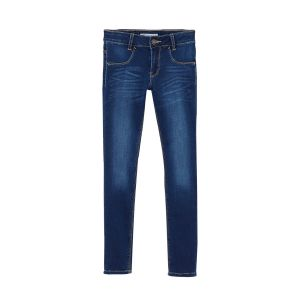 Levi's Girl's 710 Super Skinny Mid Wash Jeans