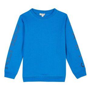 KENZO KIDS Blue Logo Sweatshirt