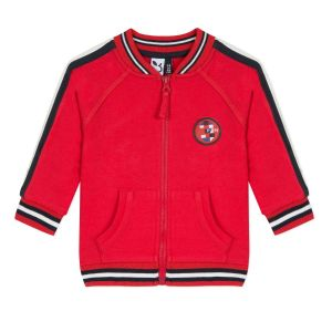3Pommes Boys Red Zip-Up Top