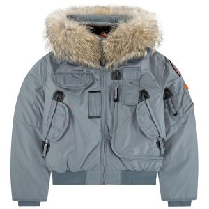 PARAJUMPERS Boy's Agave Grey GOBI Down Padded Jacket