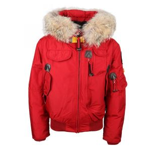 Parajumpers Boy's Red Down Padded Gobi Jacket