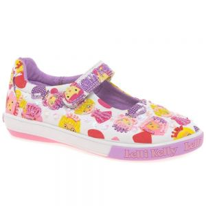 Lelli Kelly Dollface Glitter Dolly Shoes
