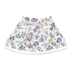 Simonetta Girl's Jungle Print Skirt