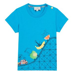 Paul Smith Junior Boys 'Blue Danube'  Cotton T-Shirt
