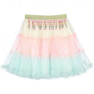 Girls Multi Coloured Tulle Skirt