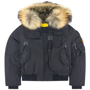 Parajumpers Girl's Black Down Padded Gobi Jacket