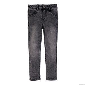 3Pommes Boys Grey Velour Touch Jeans