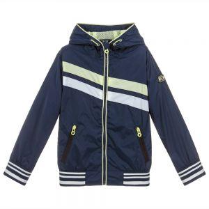 3Pommes Boys Blue Showerproof Jacket