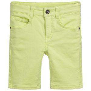 3Pommes Boys Lime Yellow Shorts