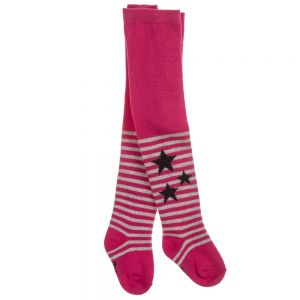 3Pommes Fuchsia Pink Cotton Tights