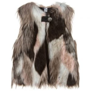 3Pommes Girls Faux Fur Gilet