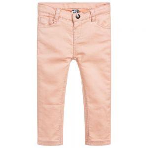 3Pommes Girl's Peach Glittery Trousers