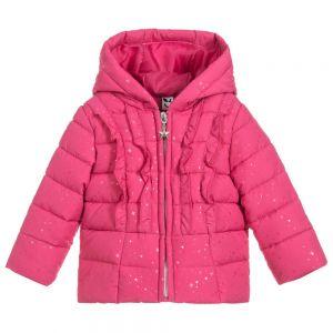 3Pommes Girls Pink Padded Coat