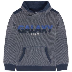3Pommes Boys Galaxy Jersey Sweatshirt