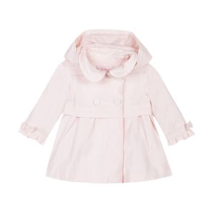Lili Gaufrette Girl's Pale Pink Coat