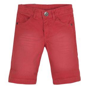3Pommes Boys Rust Denim Shorts