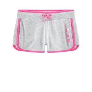 DKNY Girls Grey & Pink Shorts