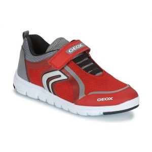 Geox Boy's 'Xunday' Red And Grey Trainer