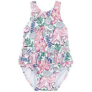 Kenzo Kids Baby Girls Disco Jungle Swimsuit