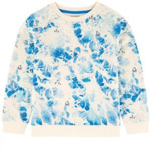 Billybandit Boy's Blue Marble Sweatshirt