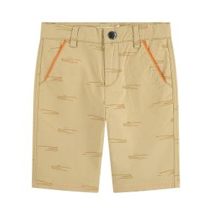 Billybandit Boys Beige Cotton Shorts