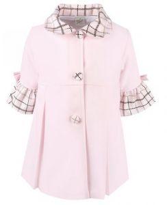Pretty Originals Pink Check Coat