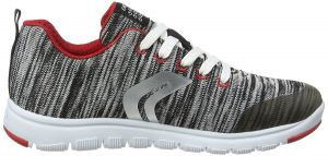 Geox boy's Grey Woven 'Xunday' Trainer