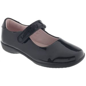Lelli Kelly Classic Black Patent School Shoe (F Fitting)