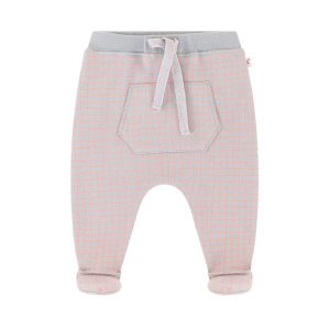 Absorba Baby Boy's Checked Pants with Feet