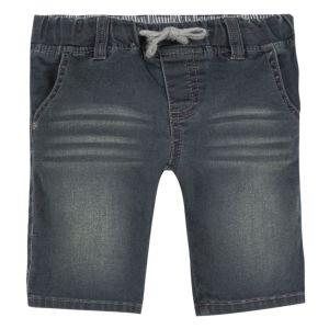 3Pommes Boys Dark Grey Soft Cotton Shorts