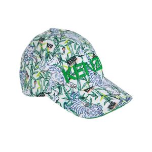 Kenzo Kids Green Jungle Cap