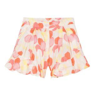 Lili Gaufrette Pink & White Viscose Giorgi Shorts