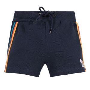 Paul Smith Junior Boys Navy Blue 'Amandino'Cotton Jersey Shorts