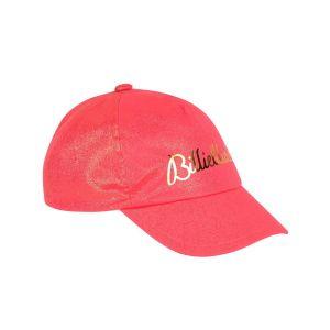 Billieblush Girls Neon Pink Logo Cap