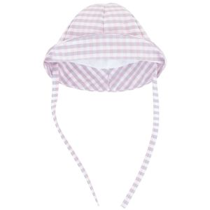 Absorba Girl's Gingham Checked Hat