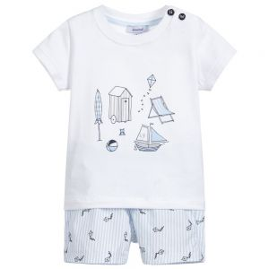 Absorba Baby Boy's Short and T-Shirt Set