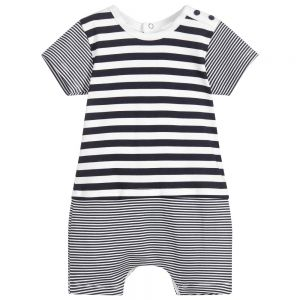 Absorba Baby Boy's Blue Striped Shortie