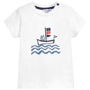 Absorba Baby Boy's Cat Print T-Shirt