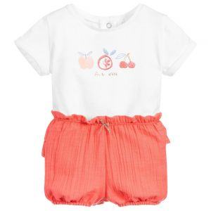 Absorba Baby Girl's 2 T-Shirt And Shorts Set