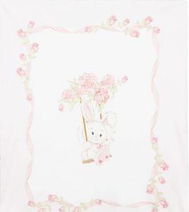 Monnalisa Pink Cotton Blanket (90cm)