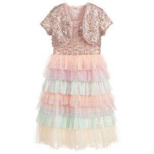 Billieblush 2 Piece Pink Tulle Dress Set
