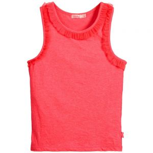 Girls Billie Blush Pink Vest Top