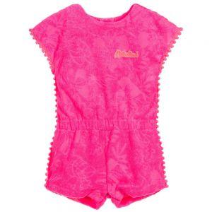 Girls Pink Billie Blush Playsuit