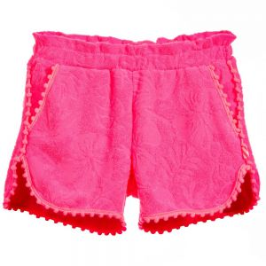 Girls Billie Blush Pom Pom Shorts