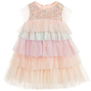 Billieblush Girls Pink Tulle Dress