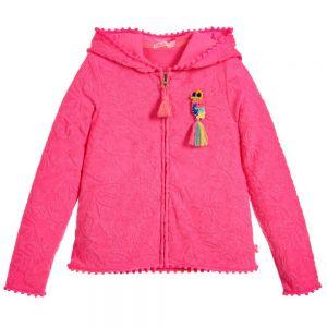 Girls Pink Billie Blush Hooded Top