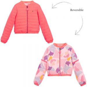 Billieblush Pink Reversible Bomber Jacket