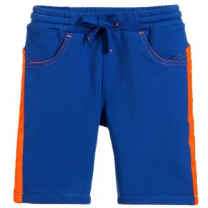 Billybandit Boys Blue Cotton Jersey Shorts