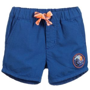 Billybandit Boys Blue Cotton Shorts